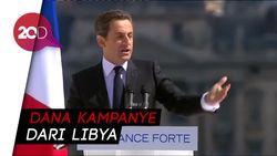 Diduga Terima Uang Haram, Eks Presiden Prancis Ditahan