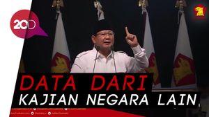 Menyimak Pidato Prabowo soal Indonesia Bubar