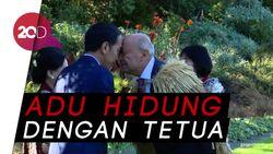Saat Jokowi Bertemu Suku Maori