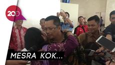 Momen Cipika-cipiki Mahyudin dan Titiek Soeharto di DPR