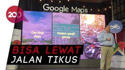 Kini Ada Rute Khusus Motor di Google Maps