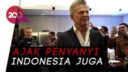 David Foster Siap Guncang Panggung Surabaya