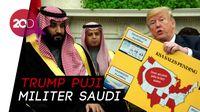 Momen Akrab Trump dan Putra Mahkota Saudi
