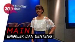 Mantan Puteri Indonesia Kenalkan Permainan Tradisional pada Anak