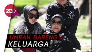 Wow! Umrah Syahrini dengan First Travel Habiskan Rp 1 Miliar