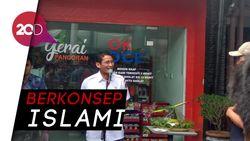 Sandi Terharu Gerai OK OCE Mart Pancoran Tutup Saat Azan