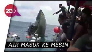 Tenggelamnya Kapal TNI di Kepulauan Seribu Akibat Kebocoran Pipa
