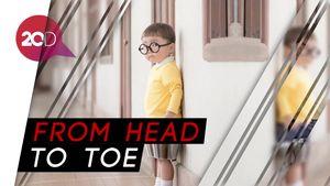 Gemas! Bocah Ini Lucu Banget Didandani Mirip Nobita