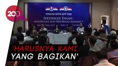 DPR soal Bagi-bagi Sertifikat Tanah: Tugas Kami Diambil Jokowi