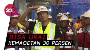1 April 2018, Underpass Matraman Siap Diuji Coba