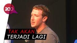 Mark Zuckerberg Akui Facebook Salah
