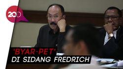 Fredrich Cecar Saksi di Sidang dan Tiba-tiba Lampu Mati