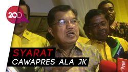 JK: Airlangga Cocok dengan Jokowi, Tinggal Usaha Saja