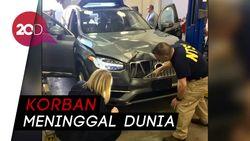 Detik-detik Mobil Otonom Uber Tabrak Pejalan Kaki