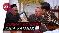 Momen Pertemuan Jokowi dan Nyak Sandang