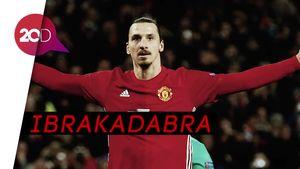 Mengingat Penampilan Ibrahimovic Berseragam MU