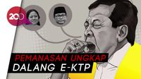 Nyanyian Novanto Isyaratkan Aktor Utama e-KTP?