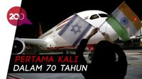 Momen Bersejarah! Pesawat Hubungkan Saudi dan Israel