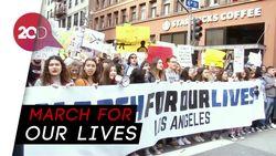 Ada Demo Tolak Kekerasan dengan Senjata Api di AS