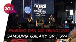 Bahas Kecanggihan Galaxy S9 bareng detikInet di Acara Ngopi