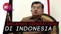 JK Blak-blakan Bicara Isu Separatisme di Indonesia
