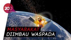 Peringatan! Tiangong-1 Diprediksi Jatuh ke Indonesia 1-3 April