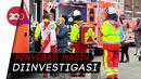 Dua Kereta Bawah Tanah Tabrakan, 30 Orang Terluka