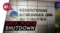 Soal Data Bocor, Menkominfo Minta Facebook Shutdown Aplikasi Kuis