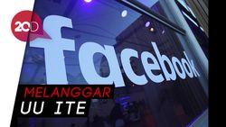 Wah! Pembocor Data Facebook Terancam Dihukum 12 Tahun
