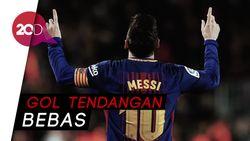 Rekor di Balik Lengkungan Indah Messi