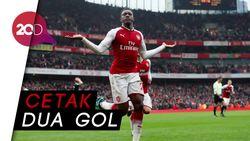 Sundulan Welbeck Pastikan Kemenangan Arsenal