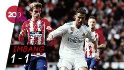 Derby Madrid Berakhir Tanpa Pemenang