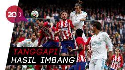 Derby Madrid: Zidane Happy, Tapi Simeone Tidak