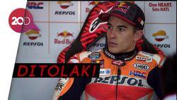 Saat Marquez Dihadang Temui Rossi di Paddock