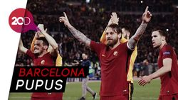 AS Roma Cabut Impian Messi Cs ke Final Liga Champions