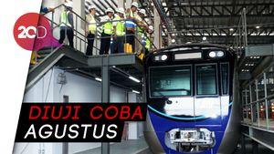 Sekali Jalan, MRT Bisa Angkut 1.800 Penumpang