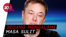 Demi Produksi Mobil Tesla Miliknya, Elon Musk Rela Tidur di Pabrik