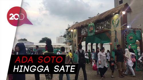 Segudang Makanan Khas Indonesia di Festival Jajanan Bango