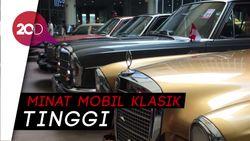 Menyaksikan Deretan Legenda Mobil Klasik