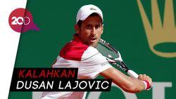 Djokovic Lewati Babak Pertama Monte Carlo Masters