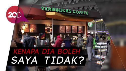 Ini Video Rasis dalam Starbucks yang Viral