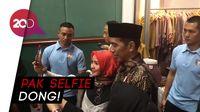 Ketika Jokowi Diserbu Para Hijabers untuk Selfie