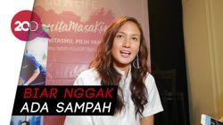 Nadine Chandrawinata Gencar Sosialisasikan Sea Soldier