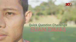 Quick Question Challenge Evan Dimas antara Luis Milla atau Simon McMenemy