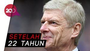 Wenger Mundur dari Arsenal di Akhir Musim