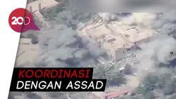 Jet Tempur Irak Bom Gedung ISIS di Suriah