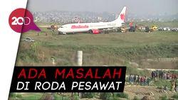 Malindo Air Tergelincir di Nepal, Bandara Lumpuh