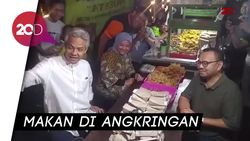 Jelang Debat, Dua Paslon Pilgub Jateng Kongkow Bareng