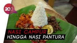 Menyantap Nasi Bogana Khas Tegal di Kafe Kekinian