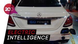 Mercedes-Benz Kenalkan Mobil Listrik EQ di IIMS 2018